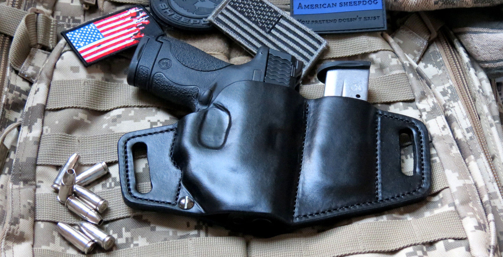 Smith And Wesson M P Shield 2 0 With Laser Holster   CINEMAS 93