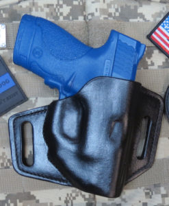 Shield, Smith Wesson, Crimson Trace, Leather, Holster