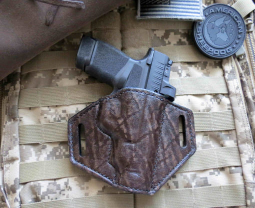 Springfield, Hellcat, RDP, Rapid Defense Package, Leather, Holster, OWB