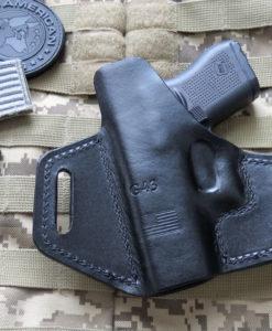 Glock 43, Glock 43X, Professional, OWB, Forward Cant, Leather
