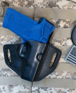 Shield, EZ, 9mm, M&P, Holster, Leather, Sweat Shield, Concealed Carry